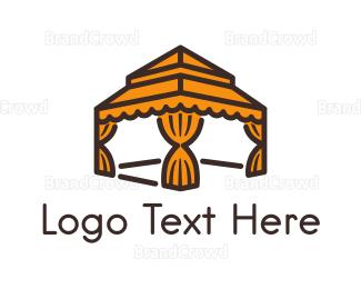 India - Orange Gazebo  logo design