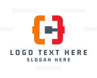 Code - Pipeline Code logo design