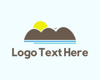 Ocean - Ocean Sunset logo design
