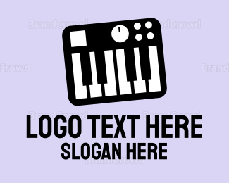 Instrument - Synthesizer logo design