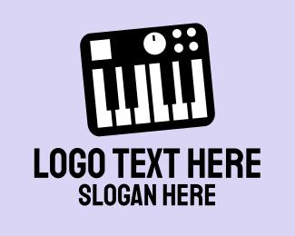 Concert - Music Synthesizer logo design
