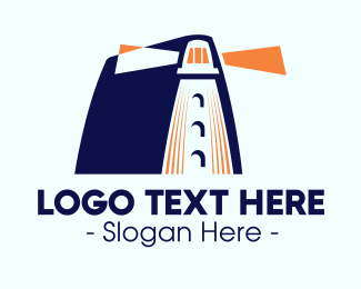 Lesson - Academic Lighthouse logo design