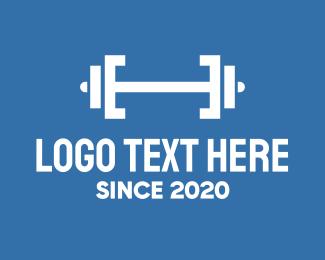 Gym - Fitness Gym Barbell logo design