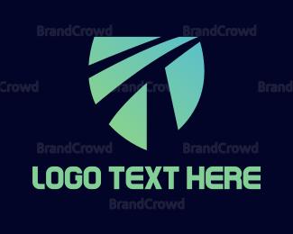 Encrypted - Shield T Gaming logo design