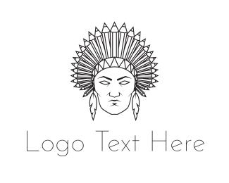 Art Gallery - Native American logo design