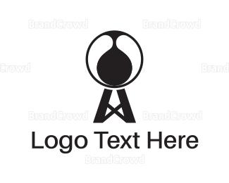 Mining - Petrol Tower logo design