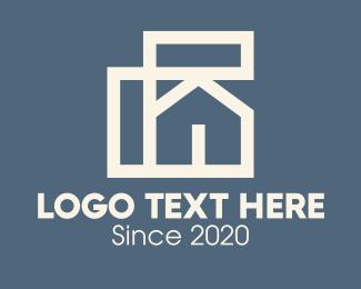Architecture - Home House Architecture logo design