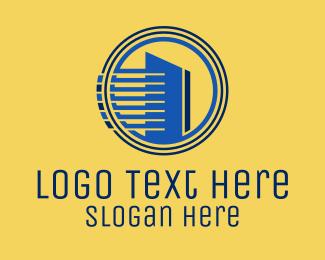Building Maintenance - Condo Tower Property logo design