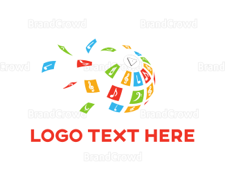 Globe - Music Globe logo design