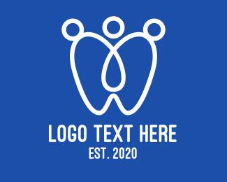 Dental - Medical Dentist Clinic logo design