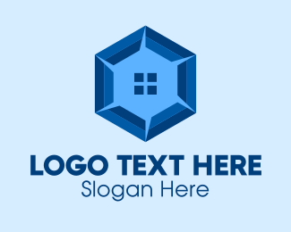 Estate - Hexagon Home Real Estate  logo design