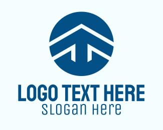 Corporate - Corporate Arrow Circle logo design
