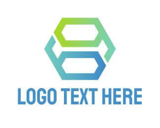 Linear - Geometric Monogram 69 logo design