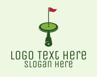 Spy - Spy Glass Golf logo design