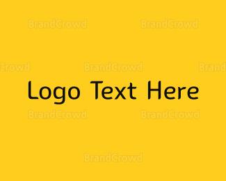 Black And Yellow - Yellow & Black Modern logo design