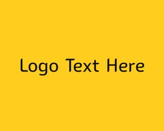 Mall - Yellow & Black Modern logo design