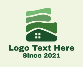 Realty - Green House Realty logo design