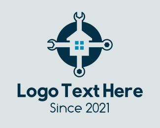 Reparation - Home Repair Maintenance logo design