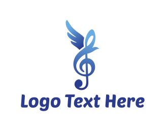 Unique - Bird Song logo design