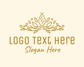 Handmade - Gold Natural Luxury logo design