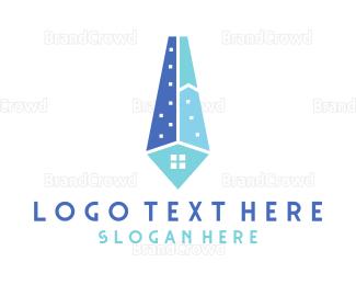 Company - Real Estate Tie logo design