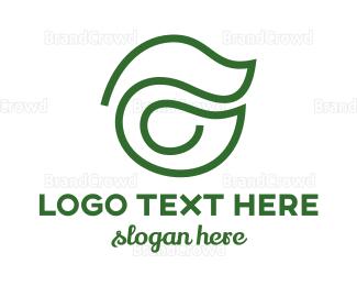 Organic - Organic G Outline logo design