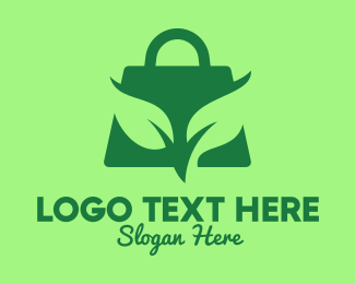 Eco Friendly - Eco-Friendly Bag logo design