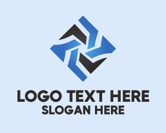 Piece - Star Tech Diamond logo design