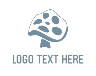 Reel - Mushroom Reel logo design
