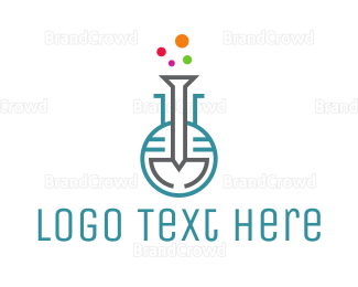 Bio Tech - Metal Lab logo design