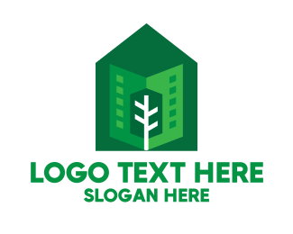 Neighborhood - Green City Neighborhood logo design