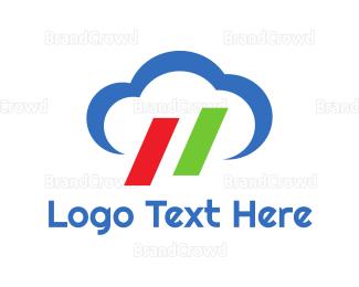 Rain - Italian Cloud logo design