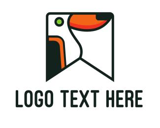 Animal Shelter - Toucan Flag logo design
