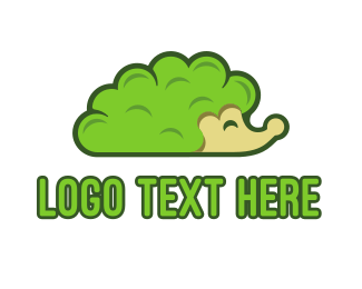 Animation - Bush Hedgehog logo design