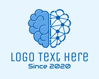 Artificial Intelligence - Artificial Intelligence Software logo design