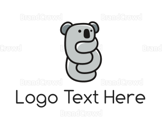 Nappy - Koala Hug logo design