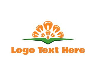 Field - Corn Sun logo design