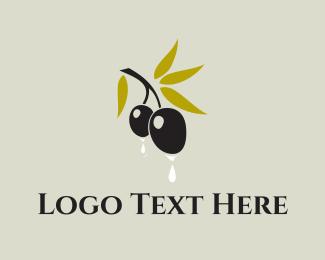 Cyprus - Olive Oil  logo design