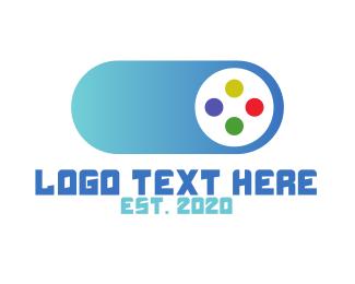 Gaming - Swipe Game logo design