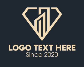 Business Firm - Elegant Diamond Building logo design