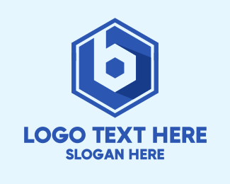 Capital - Hexagon Letter B logo design