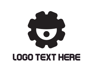 Gear Eye Logo