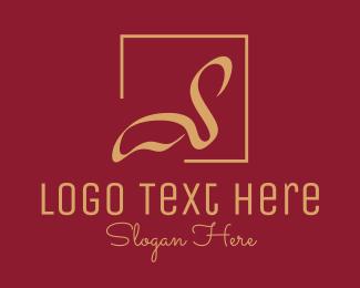Travel & Hotel Elegant Swan Hotel  logo design