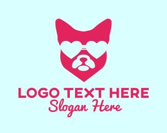 Groomer - Pink Fashion Pet logo design