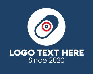 Focus - Target Medical Pill logo design