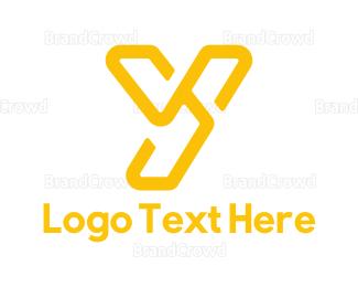 Yellow - Yellow Y logo design