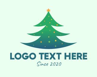 Xmas - Holiday Christmas Tree logo design
