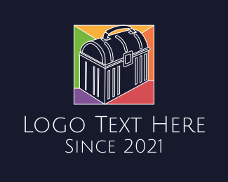 Tool - Stained Glass Tool Box logo design