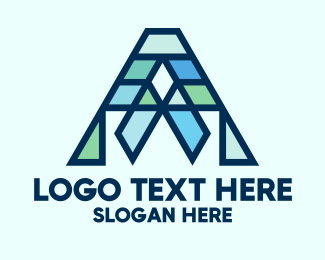 General - Modern Geometric Letter A logo design