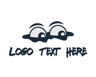 View - Spy Eyes logo design